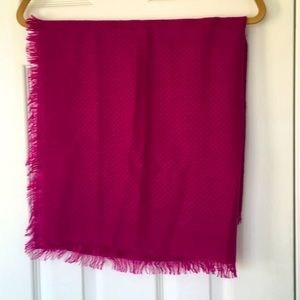 Gorgeous Pink Sheer square scarf